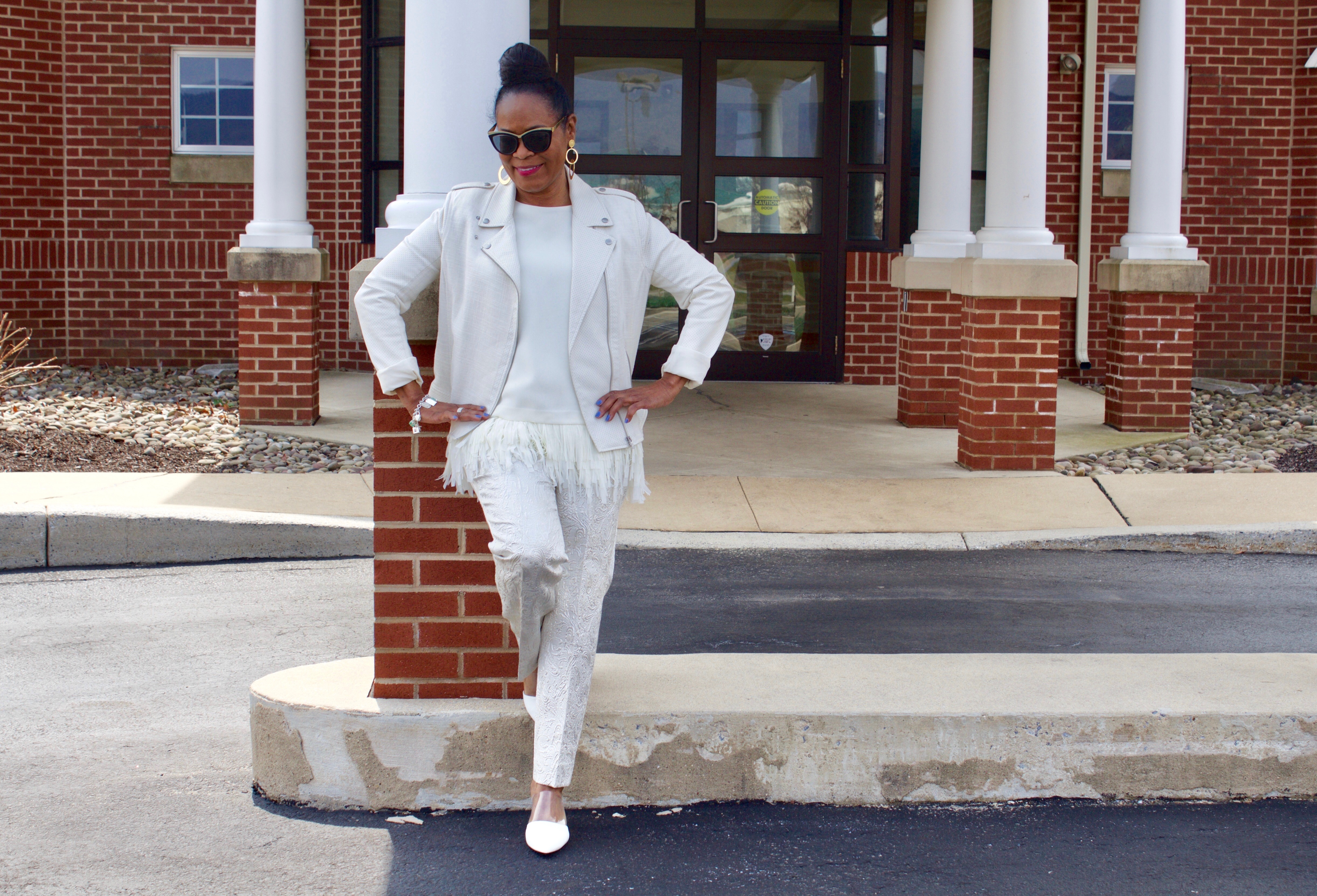 All White Look For Ruth E Carter Costume Designer Blog Post