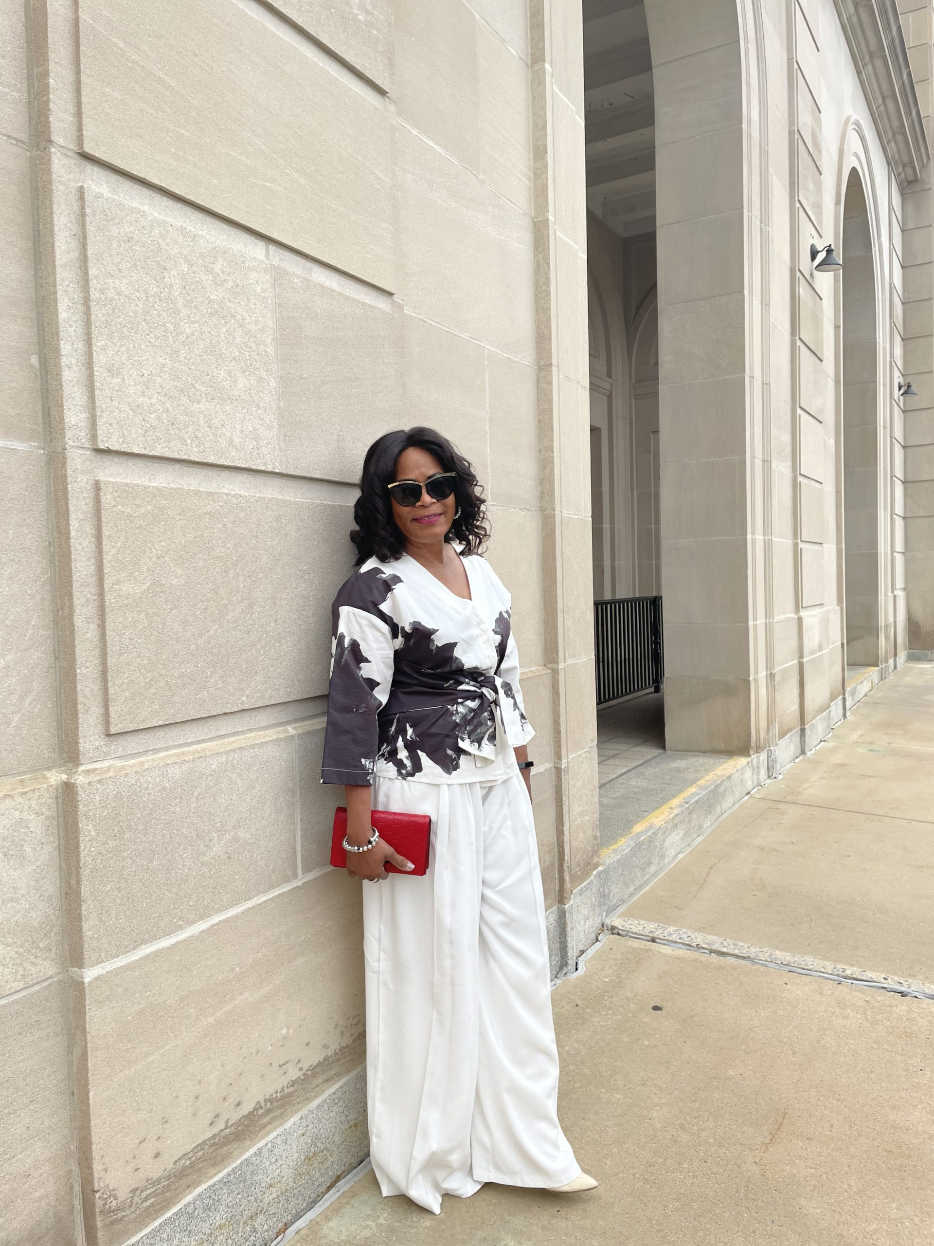 Iris Setlakwe Wrap blouse